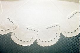 Doily embroidered by Mary