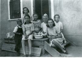A group children