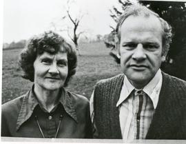 Helmut and Lydia Doerksen in Switzerland