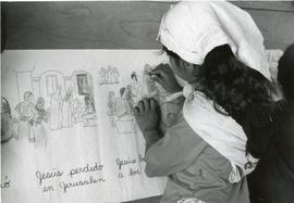 A student in Bolivia