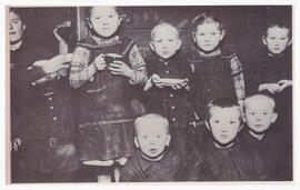 Mennonite refugee children after World War II