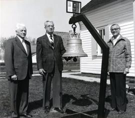 Bell at Mennonite Village Museum (Steinbach)