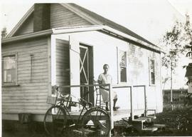 First house built in Canada in North Kildonan