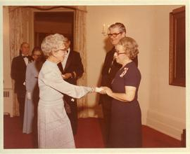 Helena Reimer at Government House receiving Order of Canada