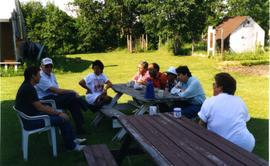 Coffee with Colombian visitors