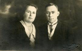 Peter Dyck and his wife