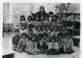 Berens River grade two class