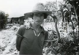 A peasant farmer in El Salvador