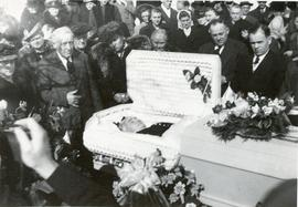 Mary Koop's mother's funeral April 5, 1950