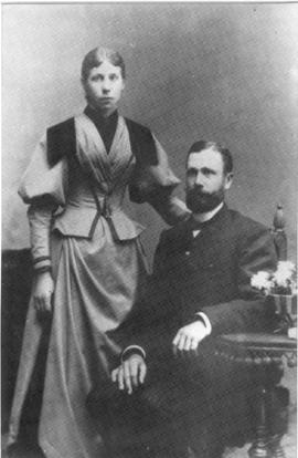 Bernhard Franz and his wife