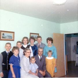 Henry and Agatha Wiebe family