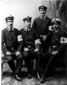 German Red Cross uniforms