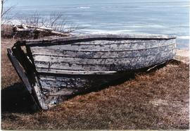 Old boat at Matheson Island