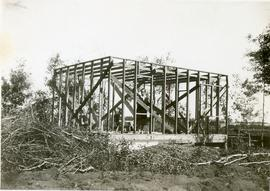 The building of the house on 286 Mckay, 1933