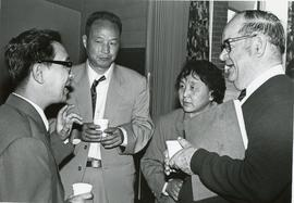Chinese delegation with William T. Snyder