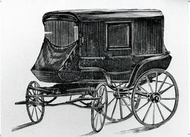 Mennonite covered wagon