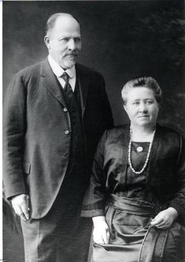 Abram Huebert and wife