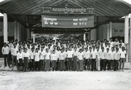 High school students in Kampuchea