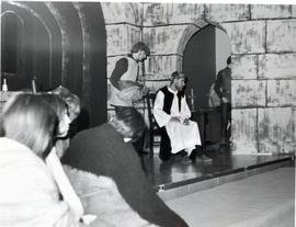 """Murder in the Cathedral"" rehearsals"