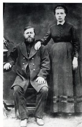 Peter Cornelius Froese (1828-1901) and wife Maria (Loeppky) Froese (1857-1901)