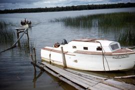 Brandt's boat at Loon Straits