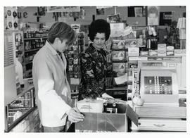 Clerks at the Selkirk Tom Boy Store