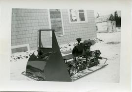 Snowmobile built for Jake Unrau
