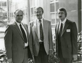Myron Augsburger, Donald Steelberg and Herman Bontrager
