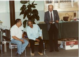 Gerald McIvor, Jeremiah Ross, and Otto Hamm at World Conference
