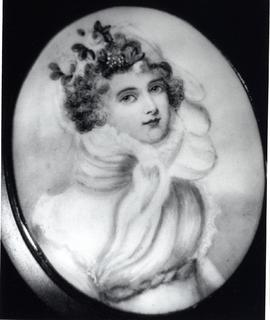 Anna Barbara Hespeler as a young woman