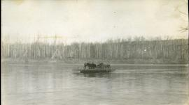Ferry on the Nechako River