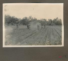 "Edited ""Hoffnungsfeld, Mennonites working at the nursery garden."""