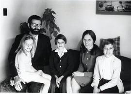 Adolf and Anna Ens and family (CMBC faculty)