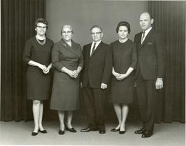 Family portrait, Heidi, Mary, Peter, Edith, Alfred