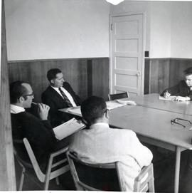 A board meeting