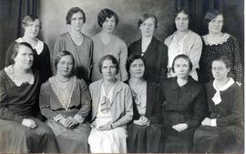 Group of ladies from the Maedchenheim