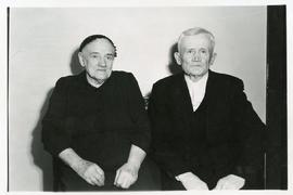 Abram P. Reimer with his wife nee Anna Dueck