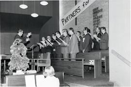 A Male choir at Conference of Mennonites In Canada - Annual sessions