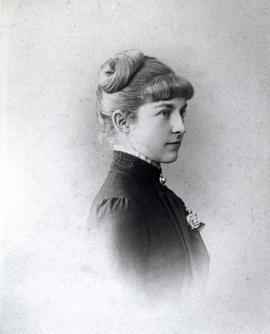 Georgina Hope Hespeler as a young woman