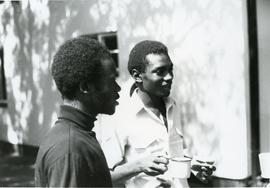Two South African refugees