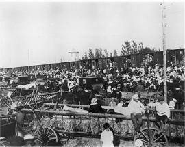 Departure day at Lichtenau train station (13 July 1924)