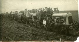 Beginning American Mennonite Relief Tractor Program