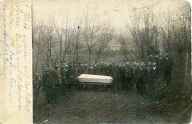 A funeral in the Forestry Camp near Yalta