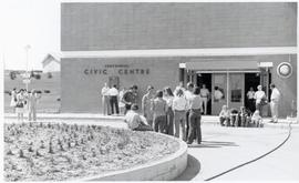 Centennial Civic Centre in Swift Current where CMC Annual sessions were held in 1975