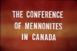 The Conference of Mennonites in Canada