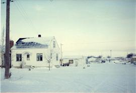 A house in the winter