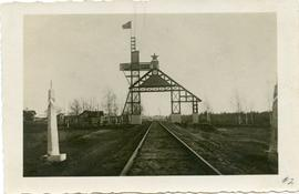 Red Gate at Sebesch on the Russian border, 1929
