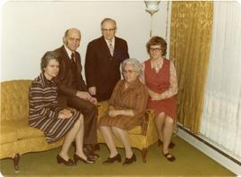 Edith, Alfred, Peter, Mary, Heidi