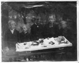 Klippenstein daughter in her coffin
