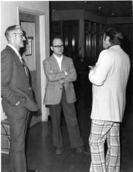 Henry Poettcker, Waldemar Janzen, and C.L. Dick